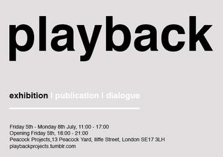 Playback,