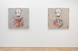 Installation view, Takashi Murakami