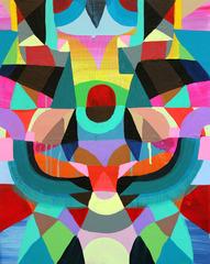 Face Without a Face #8, Maya Hayuk