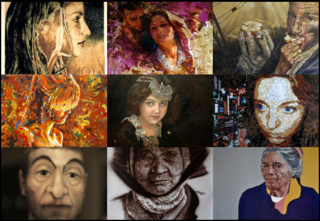 Portraits: A Focus on the Face, group