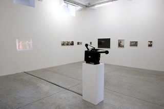 exhibition view, Elina Brotherus