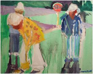 Croquet VI, Dorothy Eisner