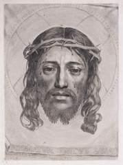 The Sudarium of Saint Veronica, Claude Mellan