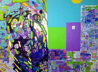 Split Vision/Color Detachment, Ron Burkhardt