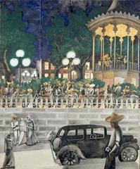 El Paseo, Edward Burra
