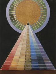 Altarbild Nr. 1 Gruppe X , Hilma af Klint