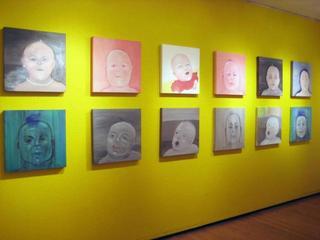 exhibition view, Linda Kramer