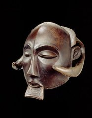 Mask, Africa, Democratic Republic of the Congo, Luba Peoples,
