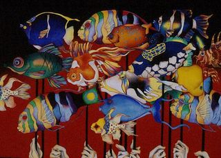 Red Fish Parade, Lori LaMont
