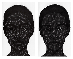 Untitled,Toyin Odutola