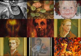 Las Laguna Gallery - Portrait Show, Group Show