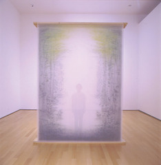 The Other Side (hanging screen-front), Asami Yoshiga