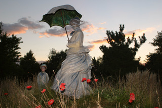 On Poppied Hill (partial view), Seward Johnson
