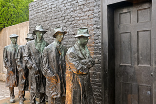 Depression Bread Line, George Segal
