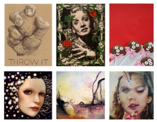Top L to R by Catherine Tafur, Jason Bryant, Lori Larusso; Bottom L to R by Naoto Hattori, Jennie Barrese, Jeff Huntington in collaboration with Travis Wagner,