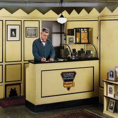 Small Basement Camera Shop circa 1937, Rodney Graham