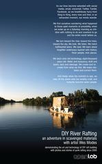 DIY River Rafting Poster, Wes Modes