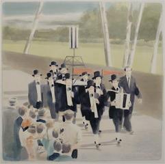 Parade the Pilgrim (study), Adam Dix