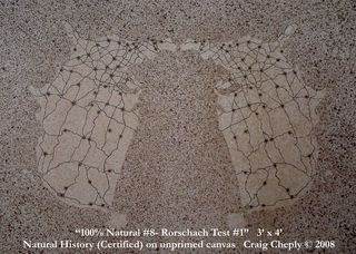 100% Natural #8-Rorschach Test #1,