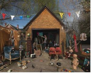Garage Sale , Julie Blackmon