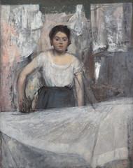 Woman ironing, Edgar Degas