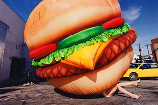 Death by Hamburger, 2001, David LaChapelle