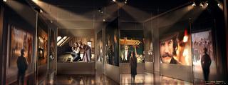 Ferretti Labyrinth exhibition design, Dante Ferretti