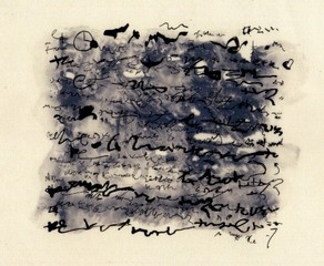 Language Drawing Series, Ancient Script II, Pamela Birmingham