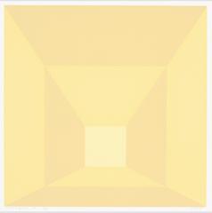 Mitered Squares (L), Josef Albers