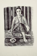 Odalisque à la coupe de fruits, Henri Matisse
