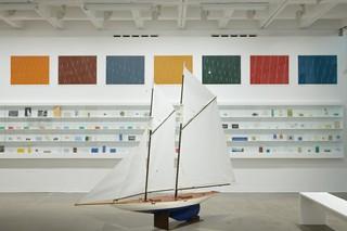 Installation view, Ian Hamilton Finlay