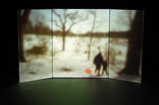 Installation still from Winter Landscape, Casilda Sanchez