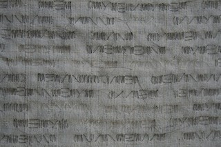 Fibonacci Scroll, detail, Masako Takahashi
