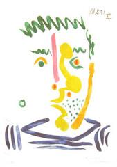 Fumeur, Pablo Picasso