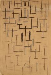Church Façade 5, Piet Mondrian