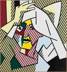 Woman Drying Her Hair , Roy Lichtenstein