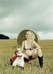Kornfeld (from the series Portrait of the Artist as a Young Mother), Katharina Bosse