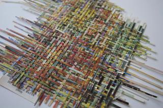 Untitled weaving, Larissa Nowicki