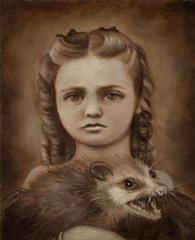 Miss Ada May and Her Kitten, Banjo, Bethany Marchman