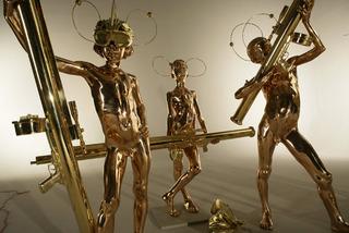 Action Half Life Sculpture: 5 Warriors  , AES+F