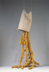 Shoestring Potatoes Spilling from a Bag , Claes Oldenburg