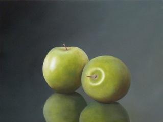 Two Green Apples, Gershom