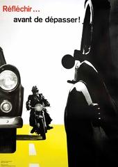 Reflechir . . . avant de dépasser! , Josef Muller-Brockmann