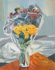 Bouquet (Cellophane), Allison Katz