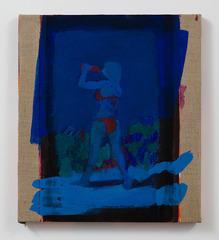 Blue Bikini study, Leon Benn