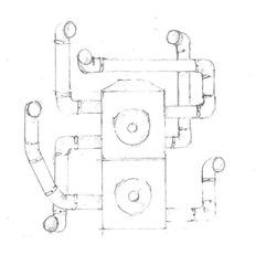 Artist Sketch for MEDUSA 0.1 , Robin McCarthy