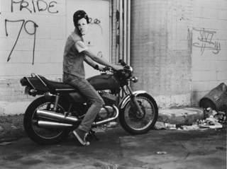 Arthur Rimbaud in New York (motorcycle), David Wojnarowicz