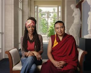 Kali-Ashet Amen and Geshe Ngawang Phende, , Dawoud Bey