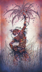 Le Noble Savage, Wangechi Mutu