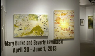 Mary Burke and Beverly Zawitkoski,